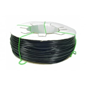 BLACK SOFT PVC TUBE FOR IRRIGATION OR STRAP FOR PLANTS mm. 3.5