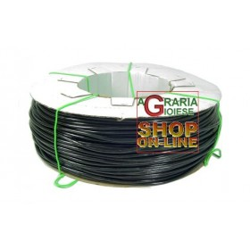 BLACK SOFT PVC TUBE FOR IRRIGATION OR STRAP FOR PLANTS mm. 5 x