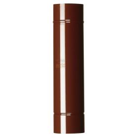 PORCELAIN STEEL TUBE FOR STOVE DIAM. CM. 15 BROWN