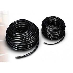 BLACK FLEXIBLE TUBE FOR RABBITS D. 9