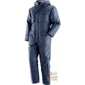 ISOTHERMAL SUIT 100% POLYESTER COLOR BLUE EN 342 TG SML XL XXL