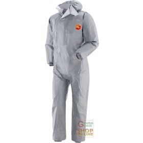 TYVEK TRACKSUIT GRAY HEAT-SEALED WITH HOOD TG SML XL XXL