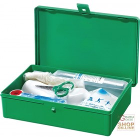 GREEN EMERGENCY EYE CLEANER CASE
