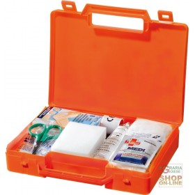 CAR HOME MEDICATION CASE COLOR ORANGE DIMENSIONS 24X17X4 CM