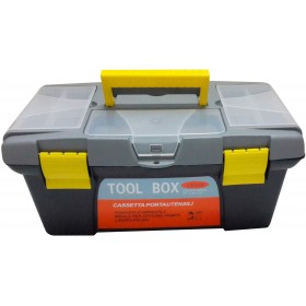 TOOL CASE WITH TRAY CM. 40x23x19