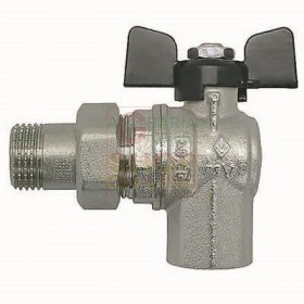 3/4 INCH ANGLE VALVE FEMALE WITH FULL PASSAGE FITTING