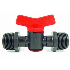 3/4 MALE THREADED BLACK VALVE