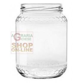 GLASS JARS CC. 390/70 PCS. 20 WITH CAPS