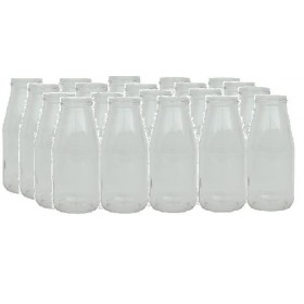 GLASS JARS CC. 446/53 PCS. 20 WITHOUT CAP