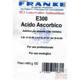 ACIDO ASCORBICO BUSTA GR. 100