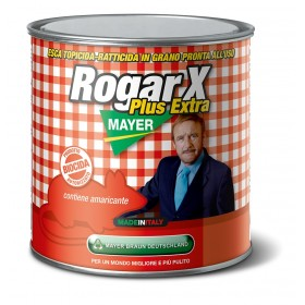 POISON FOR MICE ROGAR X PLUS EXTRA GRAIN BIOCIDAL BROMADIOLONE