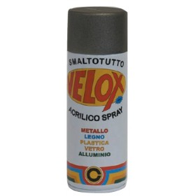 VELOX SPRAY ACRILICO NERO LUCIDO RAL 9005 ml. 400