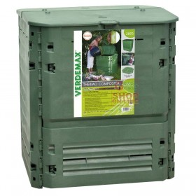 VERDEMAX COMPOSTER COMPOSTER CONTAINER FOR COMPOSTING THERMO-KING LT. 400