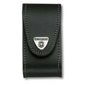 VICTORINOX BLACK LEATHER CASE FOR MULT. 91MM 5-8STR.