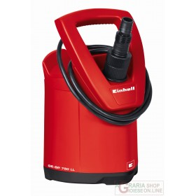Einhell Pompa a fondo piatto per acque chiare GE-SP 750 LL watt. 750