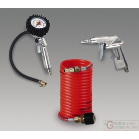 Einhell Set 3 accessories for compressor with quick coupling