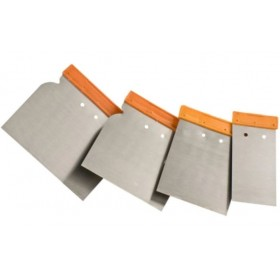 Einhell Set of 4 spatulas with steel blade mm. 50 80 100 120