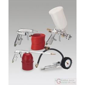 Einhell Set 5 accessori per compressore con attacco rapido