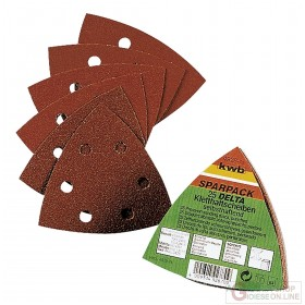 Einhell set of velcro sanding sheets for wood and metal pcs. 20 mm. 96