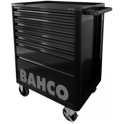 BAHCO DRAWER TROLLEY WITH 7 DRAWERS MODEL 1472K7 BLACK MEASURES CM. 95.5x69.3x51