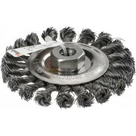 Einhell spazzola a disco di filo acciaio mm. 0,5 diam. mm. 115