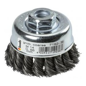 Einhell Cup brush steel wire diam. 60 x 0.5 mm. intertwined
