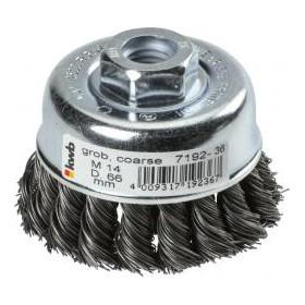 Einhell Spazzola a tazza filo di acciaio diam. 60 x 0,5 mm.