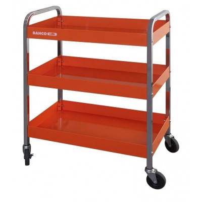 BAHCO TROLLEY WITH 3 SHELVES WHEELS