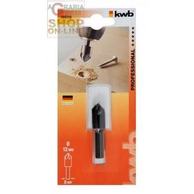 Einhell svasatore WS 12 mm. con attacco mm. 8 per legno e dei