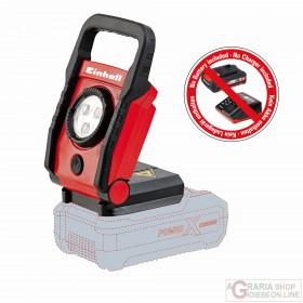 Einhell Torcia senza batteria TE-CL 18 Li - Solo PXC