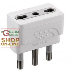 ELECTRALINE ADAPTER PLUG 16A TO BYPASS 10 / 16A