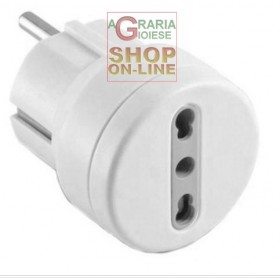 ELECTRALINE SCHUKO PLUG TO BYPASS 10-16A