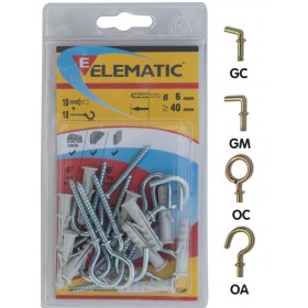 ELEMATIC BLISTER DOWELS EB / GM 6
