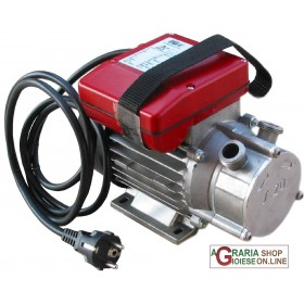 STAINLESS STEEL TRANSFER ELECTRIC PUMP HP. 0.5 mm. 20