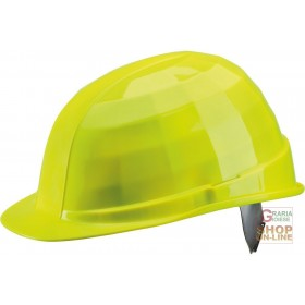 1000 V DIELECTRIC HELMET WITH ANTI-SWEAT BAND COLOR NEON YELLOW