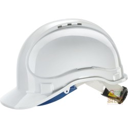 PROTECTIVE HELMET IN ABS WITH THROAT AND ANTI-SWEAT BAND RATCHET EN 397 COLOR WHITE