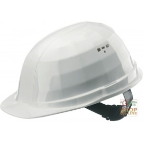 PROTECTIVE HELMET IN POLYETHYLENE WITH ANTI-SWEAT BAND WEIGHT GR 310 EN 397 COLOR WHITE