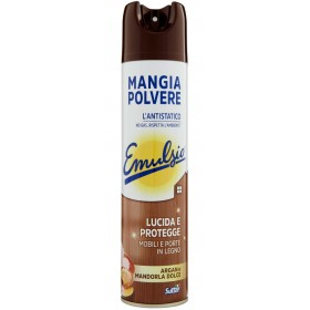 EMULSIO MANGIAPOLVERE CLEANS AND ELIMINATES ARGAN AND SWEET