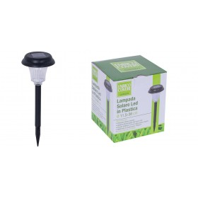 ENRICO COVERI ROUND 250 LED SOLAR LAMP FOR GARDEN WITH TIP