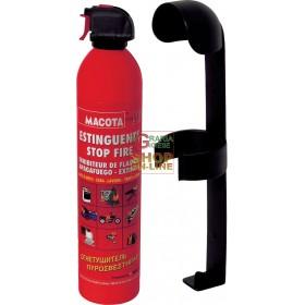 ESTINTORE PORTATILE STOP FIRE CON SUPPORTO PER AUTO CAMION KG.