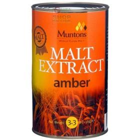 AMBER NON-HOOP MALT EXTRACT FOR DARK BEERS KG. 1.5