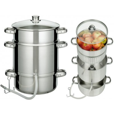 JUICE AND VEGETABLE EXTRACTOR INOX INDUCTION 7L GSW