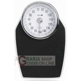 EVA PROFESSIONAL WEIGHING SCALE BLACK 893 KG. 150