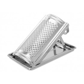 EVA GRATER WITH STAINLESS STEEL TRAY