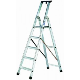 FACAL ALUMINUM LADDER SQUARE STEPS 10