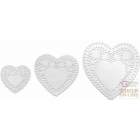 FACKELMANN 3 HEART SHAPED PAPER COVER 95X105 MM 145 FOR 155MM