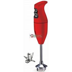 BAMIX CASSIC RED IMMERSION MIXER BLENDER WATT. 160