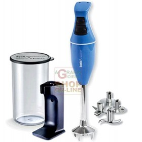 BAMIX MONO BLUE IMMERSION MIXER BLENDER WATT. 180 WITH KIT