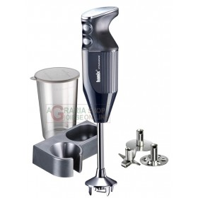 BAMIX MONO BLACK IMMERSION MIXER BLENDER WATT. 180 WITH KIT