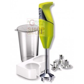 BAMIX MONO VERDE IMMERSION MIXER BLENDER WATT. 180 WITH KIT